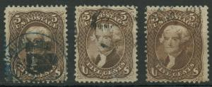 #76 FINE // VF (3) USED (1) WITH SEALED TEAR CV $360 AU903