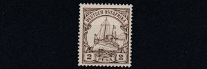 GERMAN EAST AFRICA  1901  S G 15  2P BROWN    MNH