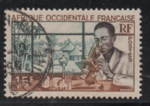French West Africa  Scott# 59   used