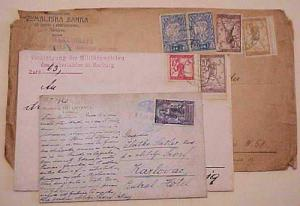 YUGOSLAVIA   3 DIFF. COVERS/CARD 1920, ONE FROM VEUKI GRJEVCA