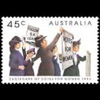 AUSTRALIA 1994 - Scott# 1375 Women Rights Set of 1 NH