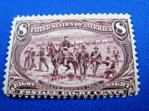 U.S. SCOTT #289  -  MH