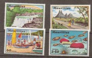 MAURITIUS SG427/30 1971 TOURISM MNH