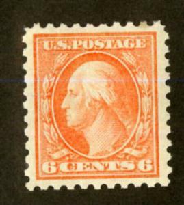 US Stamps # 429 6c Washington SUPERB OG LH Fresh Gem Choice