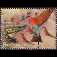 BOTSWANA 2001 - Scott# 726 Wetland Fauna 50t NH