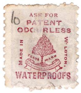 (I.B-CK) New Zealand Postal : Adson (Patent Waterproofs)