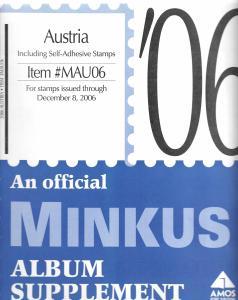 Minkus Austria MAU06 Supplement 2006
