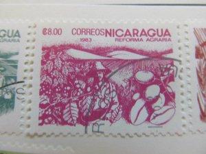 Nicaragua 1983 8cor fine used stamp A11P11F88