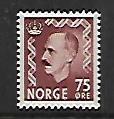 NORWAY, 351, MINT HINGED, KING HAAKON