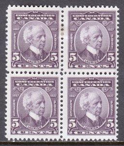Canada - Scott #144 - Block/4 - MH/MNH - See description - SCV $25.50
