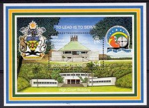 Solomon Islands 1998 Sc#872 INDEPENDENCE 20th.ANNIV.Souvenir Sheet (1) MNH