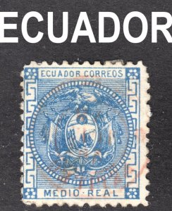 Ecuador Scott 9 F to VF used.