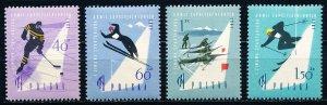 Poland #969-972  Set of 4 MNH