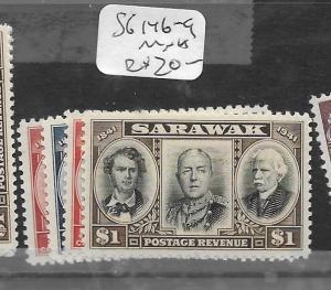 SARAWAK  (PP2803B)  CENT SG 146-9  MNH
