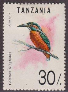 Tanzania 982 Kingfisher 1992