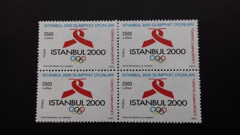 Turkey 1993 Istanbul's Bid to host Summer Olympic Games in Year 2000