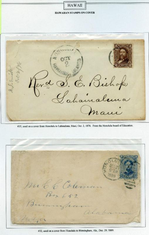 2 DIFFERENT HAWAII COVERS BM2660