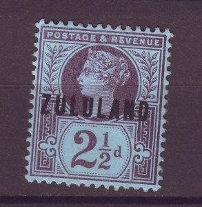 J25471 JLstamps 1888-93 zululand mng #4 ovpt