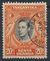 Kenya Tanganyika Uganda KUT SG 139b perf 13¼ x 13¾   - Used see details