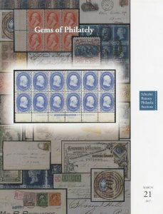Germs of Philately. Rare stamps and covers. 2017 Schuyler Rumsey Auction catalog