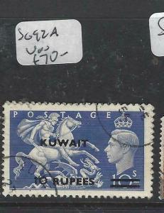 KUWAIT (P1804B)  ON GB KGVI  10R/10/-    SG92A     VFU