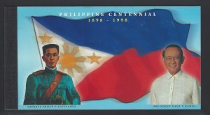 STAMP STATION PERTH Philippines #2550A Centennial CV$33 Complete Booklet