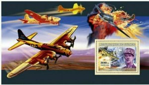 Aviation Stamp Airplane Military General Charles De Gaulle S/S MNH #4512