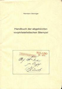 Handbuch der abgekurzten vorphilatelistischen Stempel,