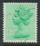 GB Machin 12½p  SG X898  Scott MH80 Used  please read details