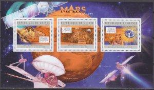 2012 Guinea 9440-42KL Mars exploration mission 18,00 €