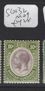 BRITISH HONDURAS (P2806B)  KGV  10 C  SG 132     MOG