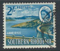 Southern Rhodesia  SG 101  SC# 104  Used  Lake Kyle  see scans