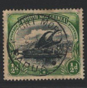 Papua New Guinea Sc#1 Used