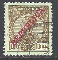 Cape Verde Sc # 107 used (RS)