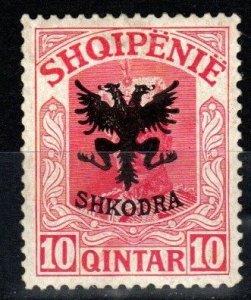 Albania #121 F-VF Unused CV $14.00  (X889)