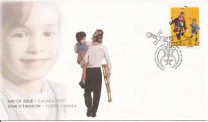2001 Canada FDC Sc 1917 - Shriners