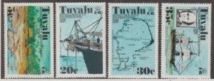 Tuvalu Scott #54-57 Stamps - Mint NH Set