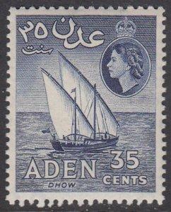 Aden 52a MNH CV $5.00