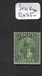 MALAYA PERAK  (P0901B) 50C  SG118  MNH