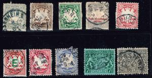 GERMANY STAMP DANZIG STAMPS COLLECTION LOT