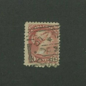 1897 Canada Postage Stamp #45 Used F/VF Postal Canceled