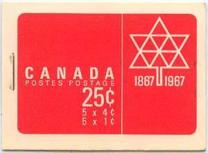 Canada - 1967 Centennial Complete Booklets #BK54 x 8