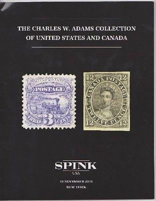 Spink: The Charles Adams Collection of U S  and Canada Stamp