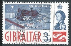 Gibraltar, Sc #151, 3d Used