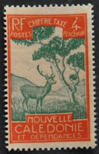 DYNAMITE Stamps: New Caledonia Scott #J20 – MINT hr