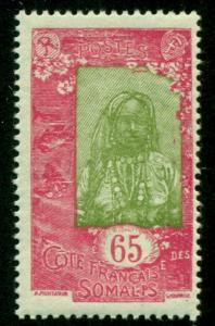 Somali Coast 1925 #105 MH SCV(2018)=$0.70
