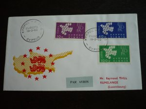 Europa 1962 - Cyprus - Set - First Day Cover