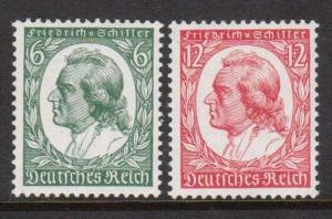Germany #446 - #447 VF/NH Set