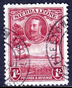 Sierra Leone - Scott #148 - Used - Light crease top center - SCV $6.50