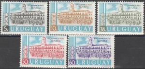 Uruguay #658-9, C208-10  MNH F-VF